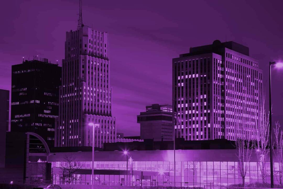 Akron Background Purple