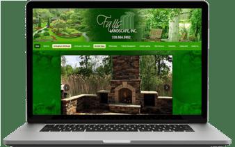 Falls Landscape Laptop