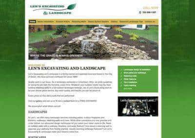 Len's Excavating & Landscape