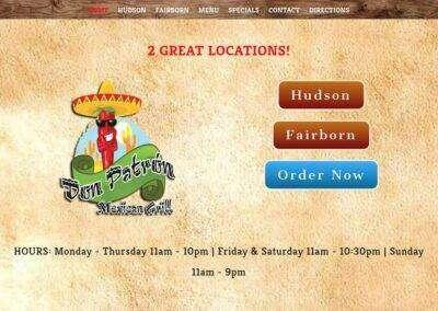 Don Patron Mexican Grill Hudson